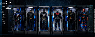 Hot Toys Batman Arkham Knight, Bati-Armería