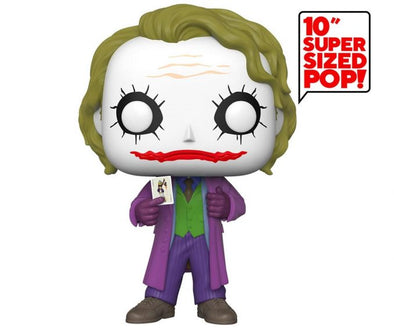 Una figura del Joker de The Dark Knight de 10 pulgadas
