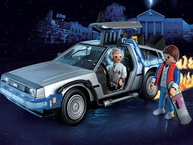 Celebra 35 años de Back to the future con Playmobil