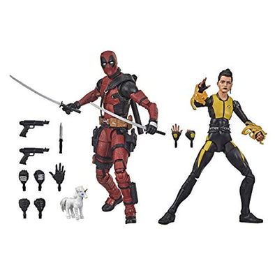 Hasbro Marvel Legends Series - Deadpool y Negasonic Teenage Warhead