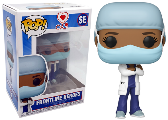 FUNKO POP heroes: Front Line Doctora #2 COVID 19