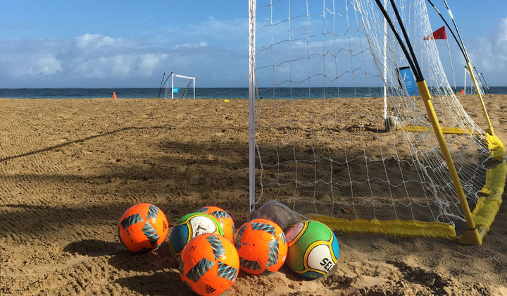 Grassroots Beach Soccer in the Caribbean