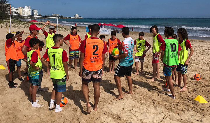 Team Beach Soccer Training, Performance, Recovery and Messi