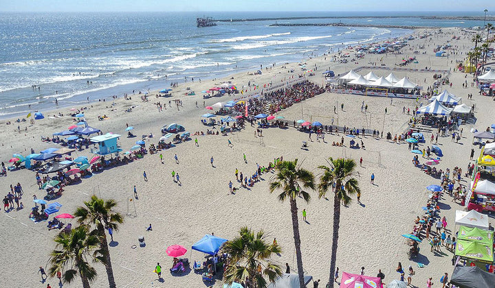 Oceanside Brought Top Level Beach Soccer Again
