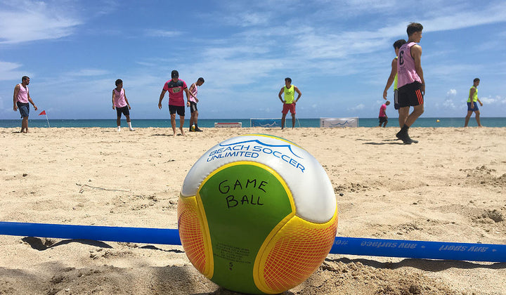 Beach Soccer Unlimited at the 2017 Xplora Fest in Puerto Rico
