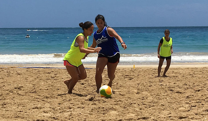 FREE Beach Soccer Clinics Kicked off after 2 back to back Events