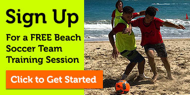 FREE Beach Soccer Training
