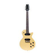 Standard H-137 Second Edition Solid Singlecut Electric Guitar with Case, TV Yellow