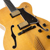 Standard Eagle Classic Hollow Electric Guitar with Case, Antique Natural