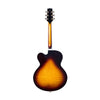 Standard Eagle Classic Hollow Electric Guitar with Case, Original Sunburst