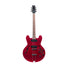 Standard H-530 Hollow Electric Guitar with Case, Trans Cherry