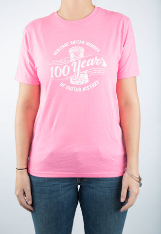 100th Anniversary Kids T-Shirt - Pink