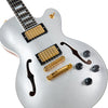 Custom Shop H-155M Electric Guitar, Silver Top (AH16208)