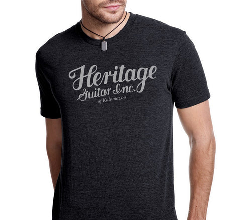 Heritage Guitar Inc Logo T-Shirt