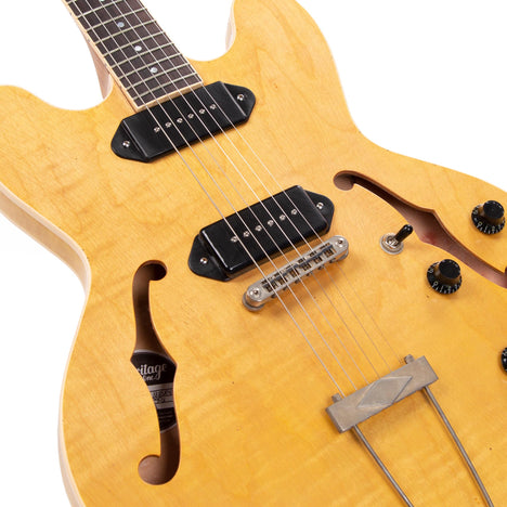 Artisan Aged Collection H-530 Electric Guitar, Antique Natural