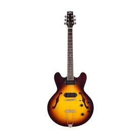 Standard H-530 Electric Guitar with Case, Original Sunburst (Artisan Aged)