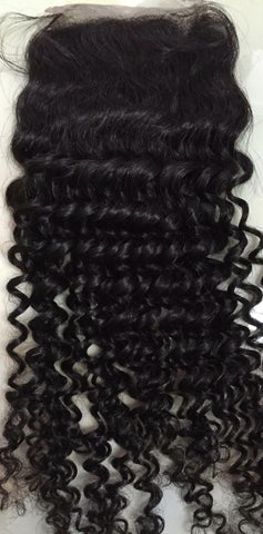 Lace Closure Kinky Curly (Free Part)