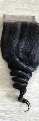 Lace Closure Wavy (Free Part)