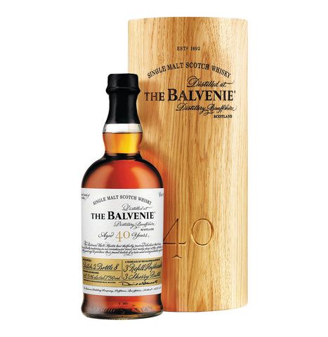 BALVENIE 40 YO Speyside Single Malt Whisky