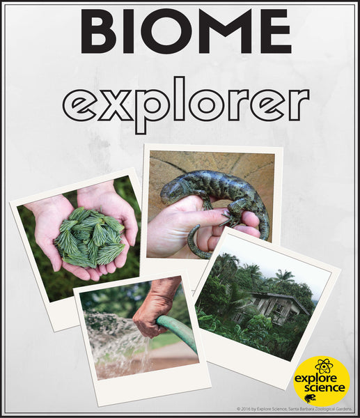 Biome Explorer Workbook (Pre-K and K) - Explore Science