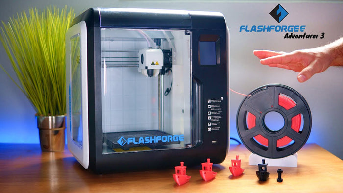 Introduksjon til FlashForge Adventurer 3 3D-printer