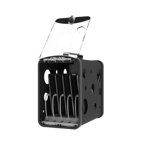 "LocknCharge CarryOn 5 Bay Charging Station Black, fits 7""-10"" tablets"