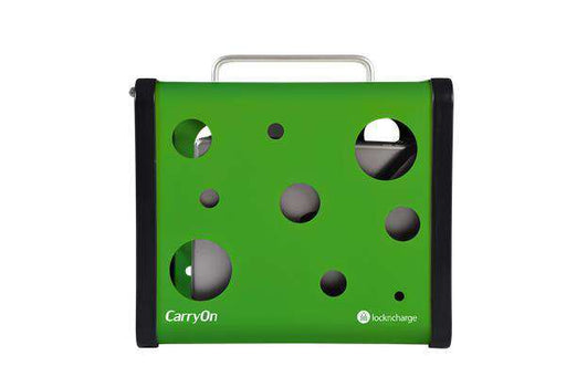 "LocknCharge CarryOn 5 Bay Charging Station Green, fits 7""-10"" tablets"