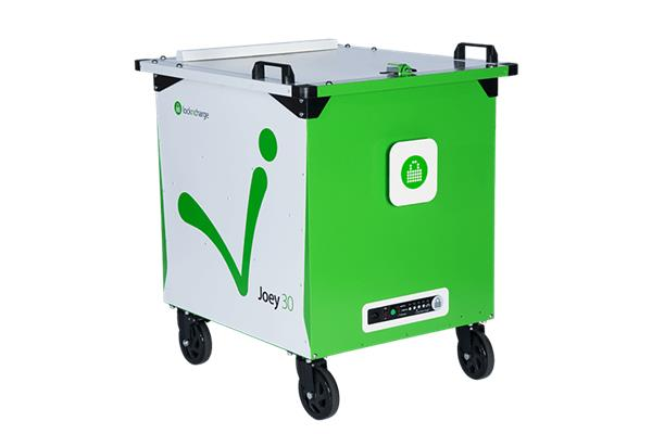 LocknCharge Joey 30 Mk2 Cart EU (ladevogn for 30 enheter Chromebook/iPad/nettbrett)