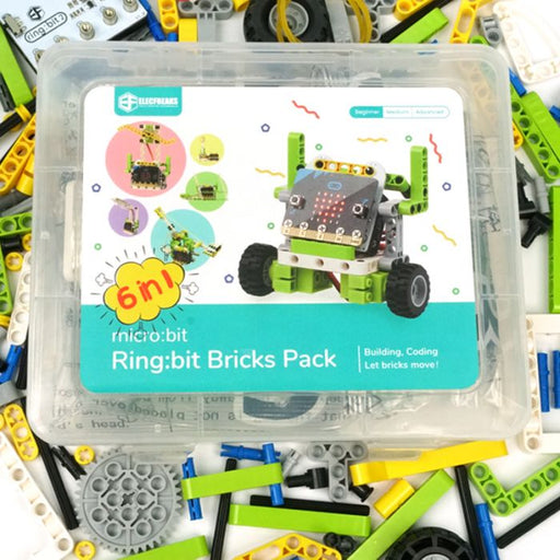 micro:bit Ring:bit Bricks Pack (6 prosjekter)