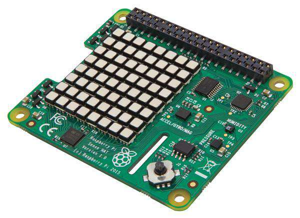 SenseHAT interactive Sensor HAT for Raspberry PI 3, Used by Astro Pi