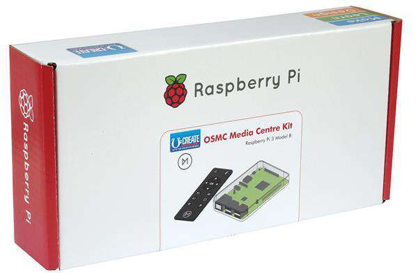 Raspberry Pi 3 OSMC Media Centre Kit U:Create