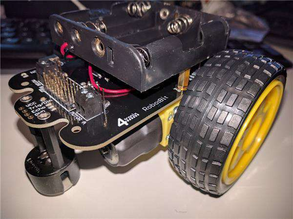 4tronix Robo:Bit DIY buggy for BBC micro:bit
