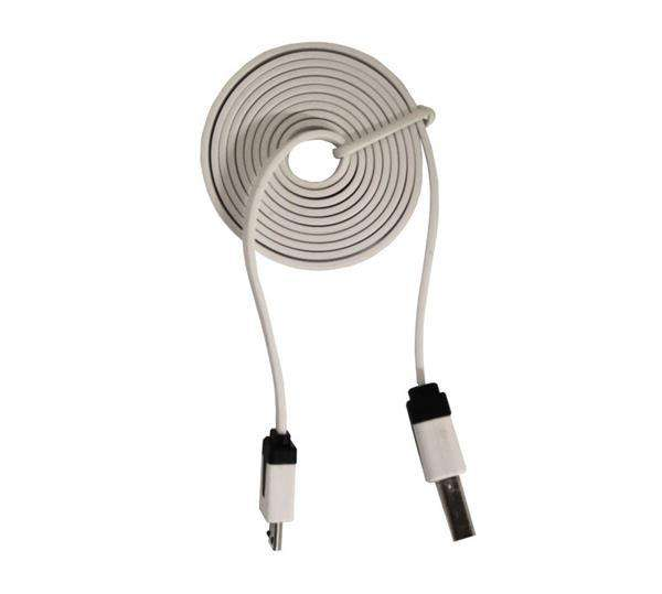 Kitronik 1m USB Type-A to Micro-B USB Noodle Cable