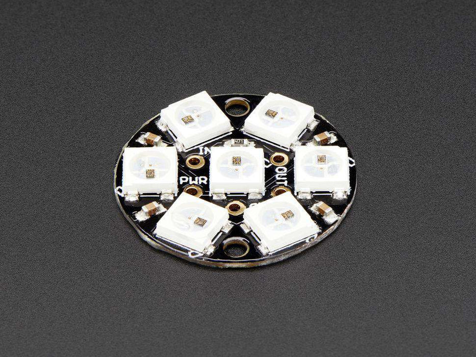 Adafruit NeoPixel Jewel - 7 x 5050 RGB LED with Integrated Drivers