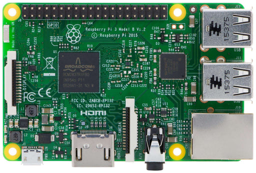 Raspberry Pi 3 Model B 1GB, ARM8