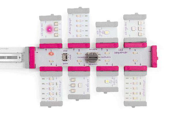 littleBits Sequencer