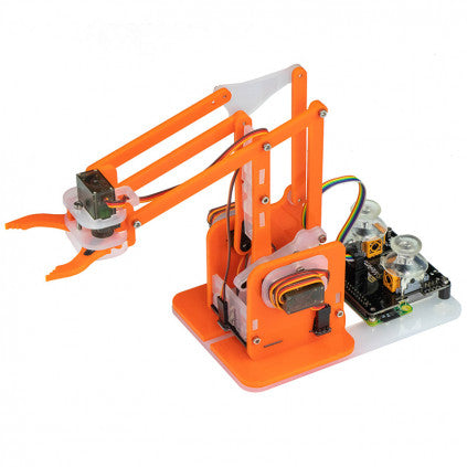 MeArm Robot Raspberry Pi Kit - Orange