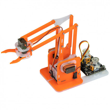 MeArm Robot Arduino Compatible Kit - Orange