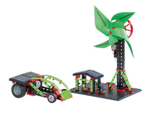 Fischertechnik STEM kit Green Energy (incl. Fuel Cell Kit)