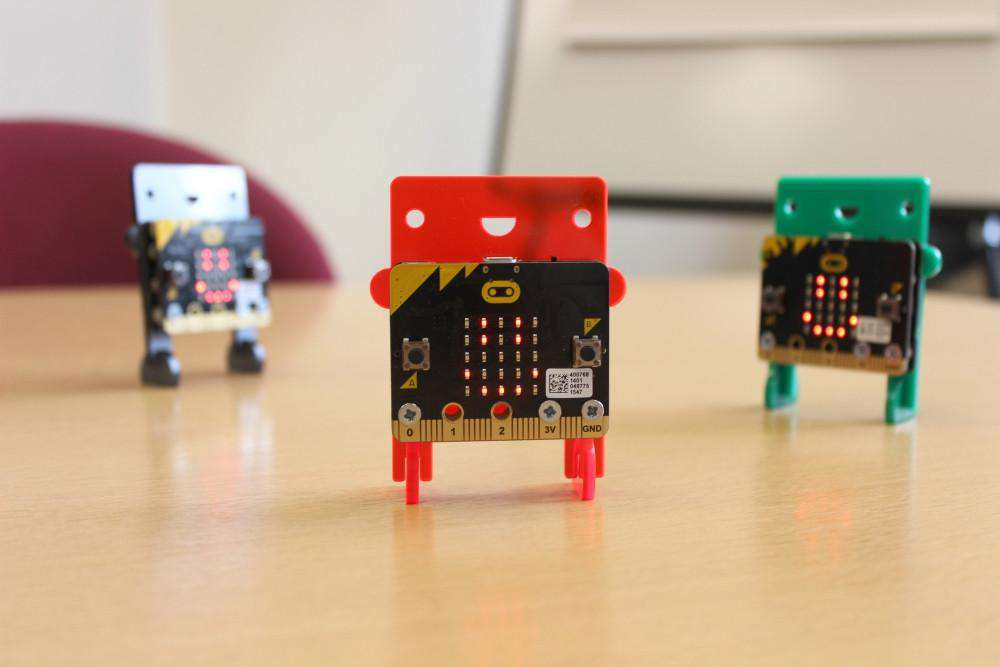 Kitronik MI:power board for BBC micro:bit
