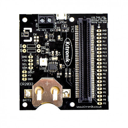 Kitronik RTC Board for the BBC micro:bit