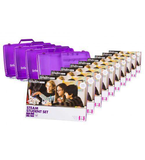 littleBits STEAM Education 40 student Class Pack