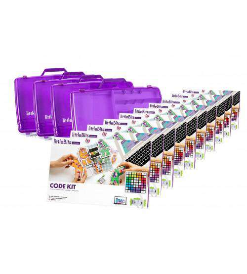 littleBits Code Kit 30 student Class Pack