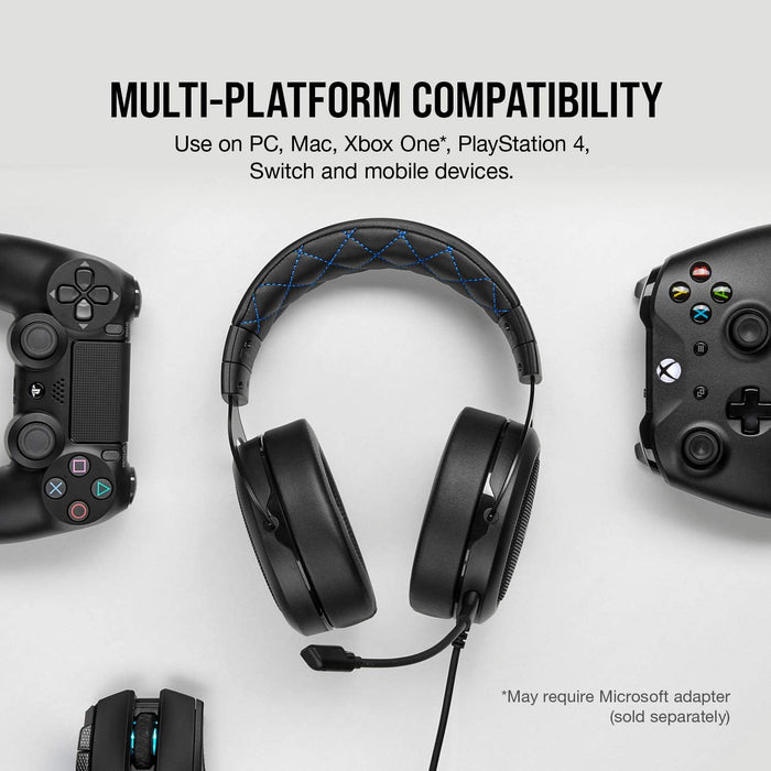 Corsair Gaming HS50 PRO Headset Blå