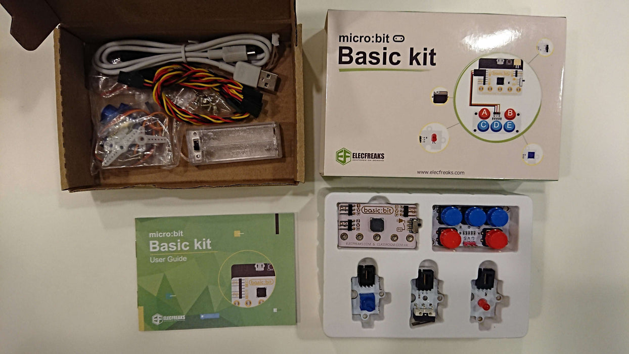 ElecFreaks micro:bit Basic Kit Club Bundle (10 stk uten micro:bit)