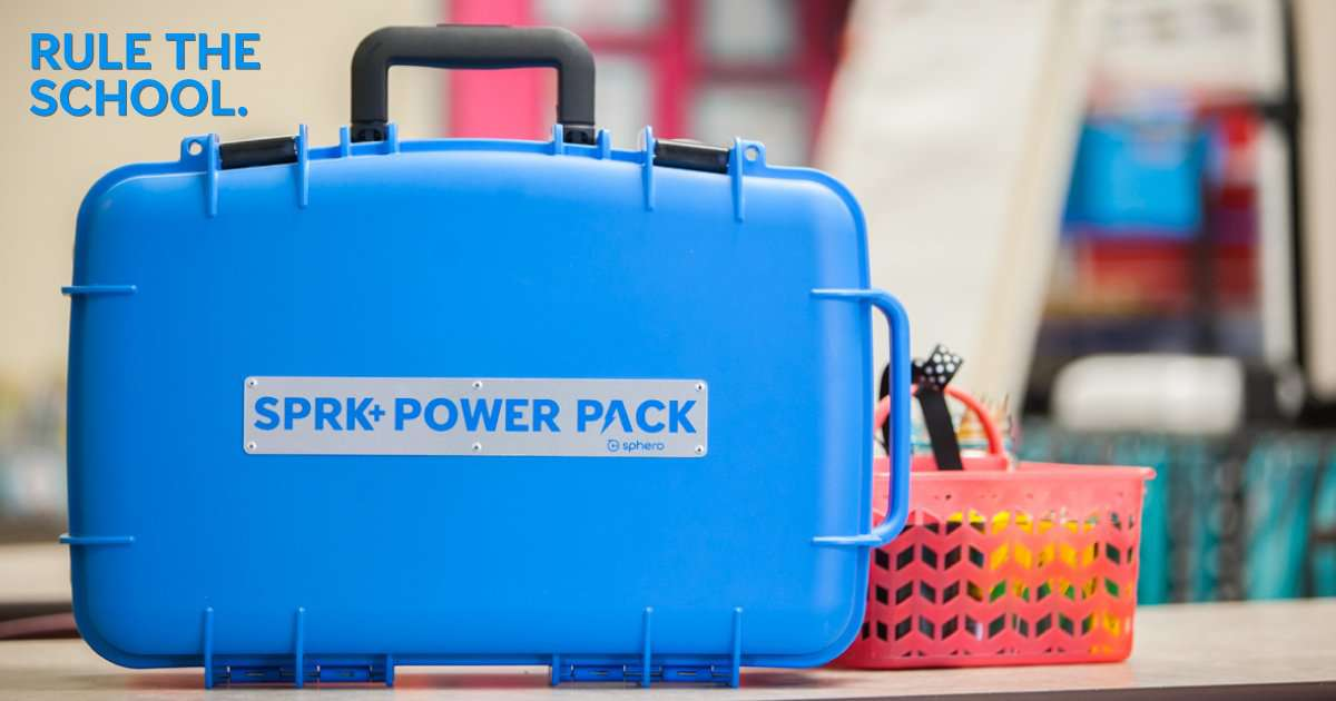 Sphero SPRK+ Power Pack (kun ladeboks/trillekoffert)