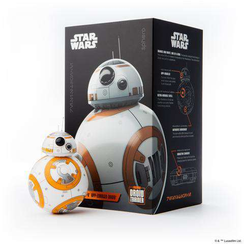 Star Wars BB-8 by Sphero app-styrt droide + Droid Trainer
