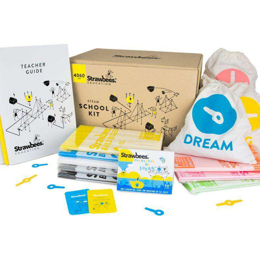 Strawbees STEAM School Kit (4060 deler)