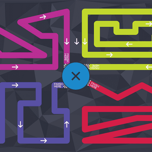 Sphero Activity Mat 2 - Maze mat (labyrint)