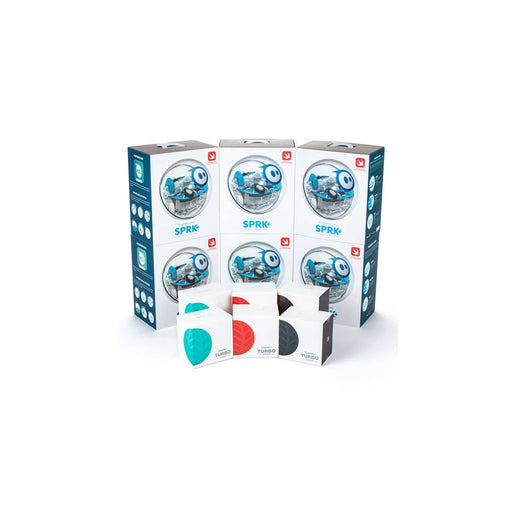 Sphero SPRK+ Half Dozen Kit for mindre klasser (6 stk + Turbo Cover)